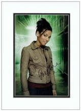 Freema Agyeman Autograph Signed Photo - Dr Who