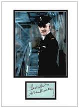 Fulton MacKay Autograph Signed Display - Porridge