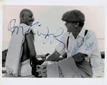 Gandhi Autograph Photo Signed - Kingsley & Sheen