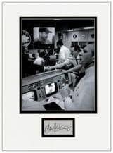 Gene Kranz Autograph Signed Display