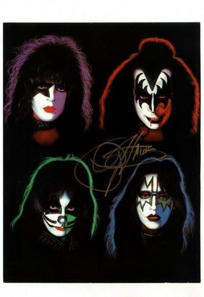 Gene Simmons Autograph Signed Photo - Kiss