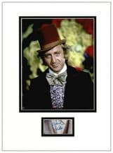 Gene Wilder Autograph Signed Display - Willy Wonka