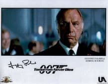 Geoffrey Palmer Autograph Signed Photo