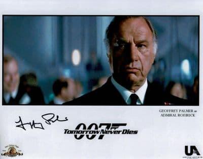 Geoffrey Palmer Autograph Signed Photo