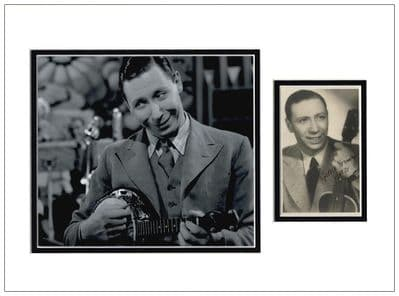George Formby Autograph Signed Photo