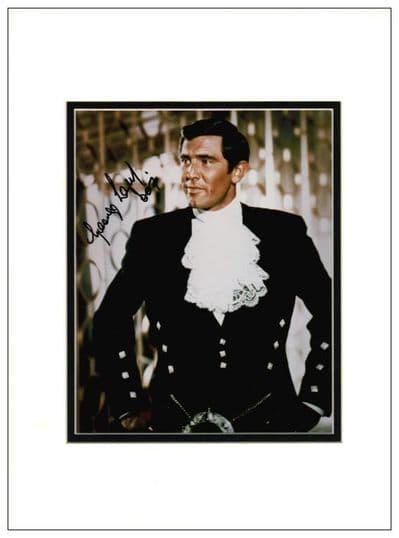 George Lazenby Autograph Signed Photo James Bond For Sale