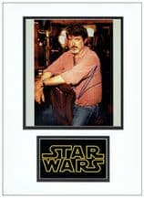 George Lucas Autograph Signed Photo - Star Wars