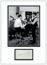 George Martin Autograph Signed - The Beatles