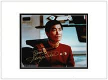 George Takei Autograph Signed Photo - Star Trek