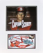 Gerry Anderson Autograph Signed - Captain Scarlet