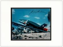 Gerry Anderson Autograph Signed Display - Thunderbirds