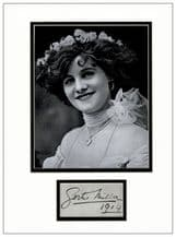Gertie Millar Autograph Signed Display