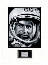 Gherman Titov Autograph Signed Display