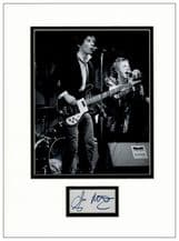 Glen Matlock Autograph Signed Display - Sex Pistols