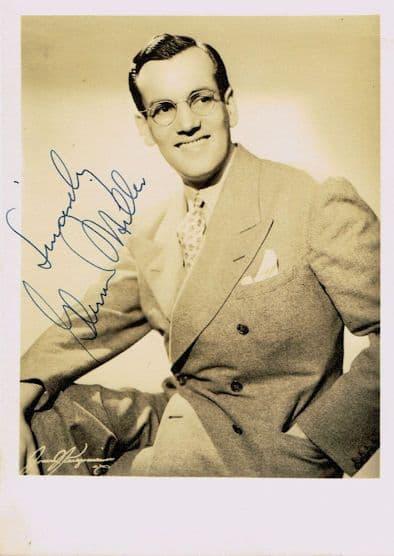 Glenn Miller Autograph Signed Photo