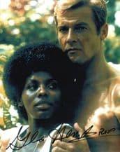 Gloria Hendry Autograph Signed Photo - James Bond