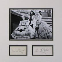 Gone With The Wind Autograph Display - Rutherford & Keyes