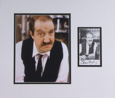 Gordon Kaye Autograph Signed Photo Display - Allo Allo