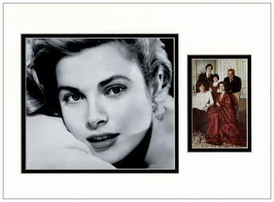 Grace Kelly Autograph Signed Photo Display