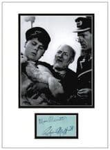 Graham Moffatt and Moore Marriott Autograph Signed Display