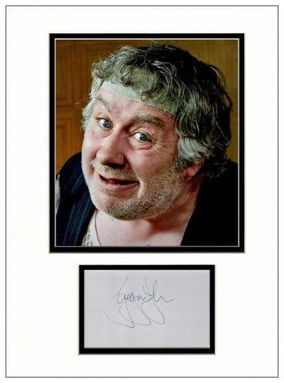Gregor Fisher Autograph Signed Display - Rab C Nesbitt