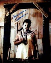 Gunnar Hansen Autograph Signed Photo - Texas Chain Saw Massacre