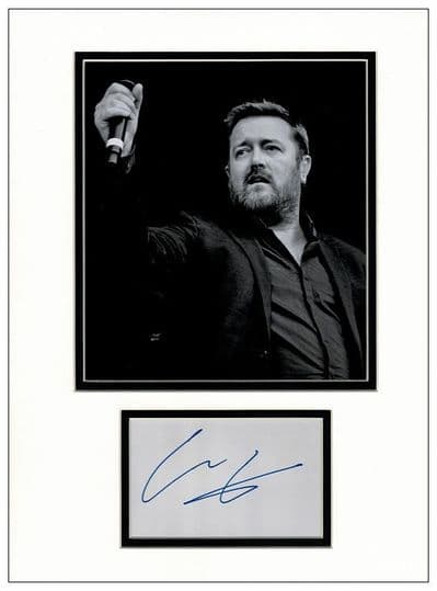 Guy Garvey Autograph Signed Display - Elbow