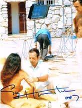 Guy Hamilton Autograph Signed Photo James Bond For Sale