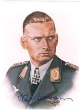 Hajo Hermann Autograph Signed Photo