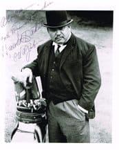 Harold Sakata Autograph Signed Photo - Oddjob
