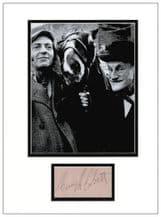 Harry H Corbett Autograph Display - Steptoe and Son