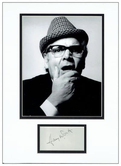 Harry Worth Autograph Signed Display