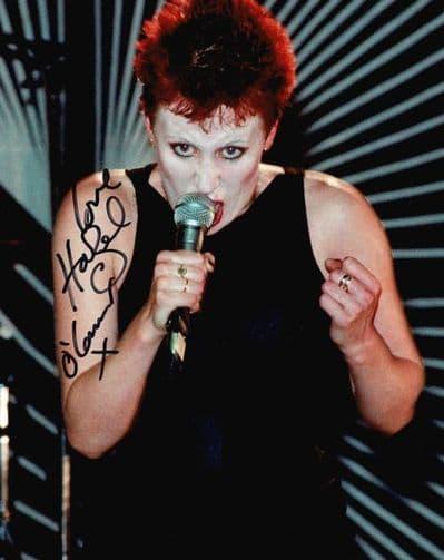 Hazel O'Connor Autograph Signed Photo