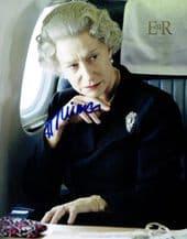 Helen Mirren Autograph Signed Photo - The Queen