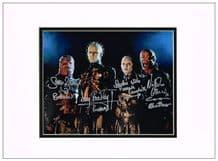 Hellraiser Cast Autograph Signed Photo