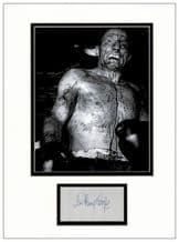 Henry Cooper Autograph Signed Display