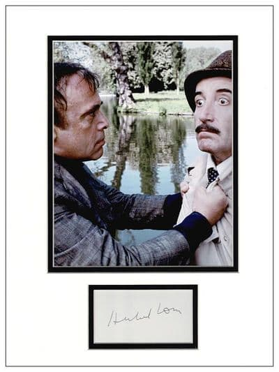 Herbert Lom Autograph Signed Display - The Pink Panther