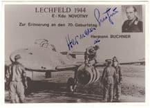 Hermann Buchner Autograph Signed Photo