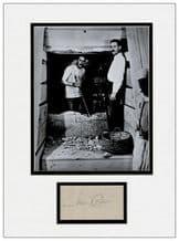 Howard Carter Autograph Signed Display - Tutankhamun