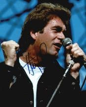 Huey Lewis Autograph Signed Photo