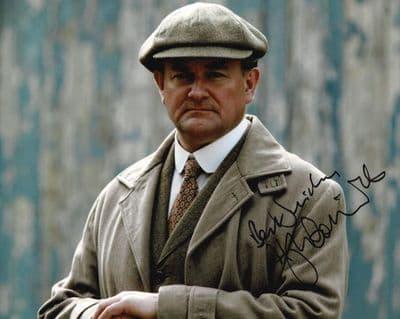 Hugh Bonneville Autograph Signed Photo - Downton Abbey