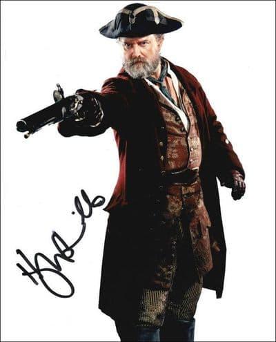 Hugh Bonneville Autograph Signed Photo - Dr Who