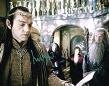 Hugo Weaving Autograph Signed Photo - Elrond
