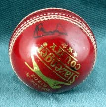 Ian Botham Autograph Signed Cricket Ball