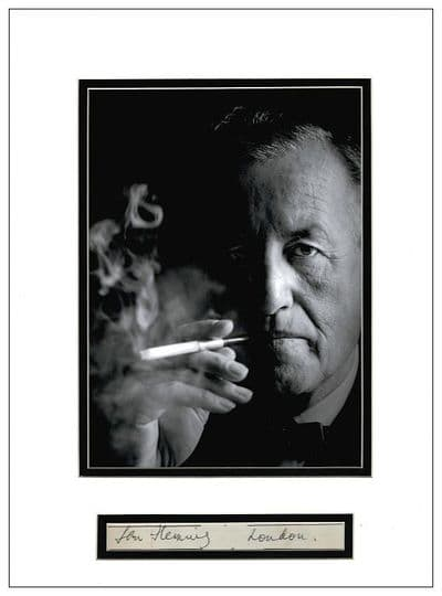 Ian Fleming Autograph Signed Display - James Bond