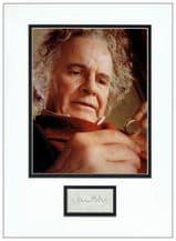 Ian Holm Autograph Signed Display - Bilbo Baggins