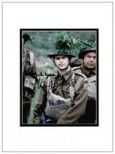 Ian Lavender Autograph Signed Photo - Dad's Army