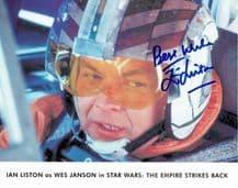 Ian Liston Autograph Signed - Wes Janson