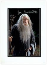 Ian McKellen Autograph Photo - The Hobbit