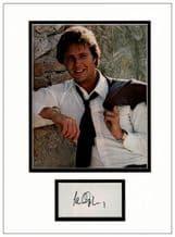 Ian Ogilvy Autograph Signed Display - Return of the Saint